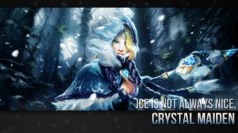 Dota 2 crystal maiden Wallpaper
