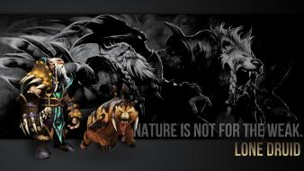 Dota 2 lone druid wallpaper