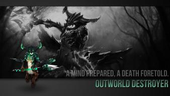 Dota 2 outworld destroyer wallpaper