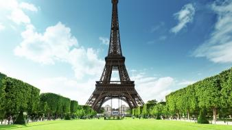 Eiffel tower parks Wallpaper