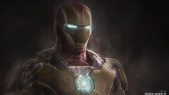 Iron man artwork marvel comics 3 mark 42 Wallpaper