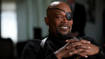 Iron man samuel l. jackson nick fury 2 Wallpaper
