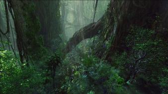 Landscapes trees movies avatar forest plants film wallpaper