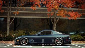 Mazda jdm rx7 autumn wallpaper