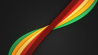 Minimalistic rainbows dark background color spectrum noise wallpaper