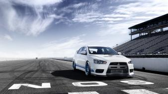 Mitsubishi lancer evolution x wallpaper