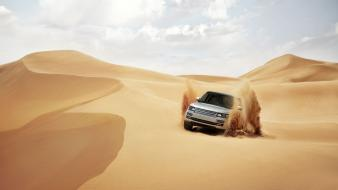 Nature sand cars desert land rover discovery 3 wallpaper