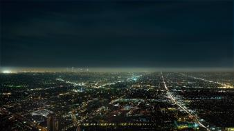 Night buildings usa los angeles cities skies wallpaper