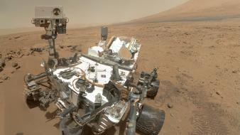 Planets mars nasa self portrait rover curiosity wallpaper