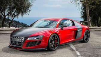 Red tuning audi r8 wallpaper