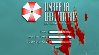 Resident evil video umbrella corp. game wallpaper