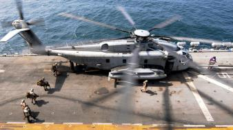 Ships boats usmc mh-53e sea dragon wallpaper