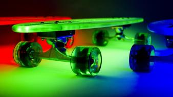 Skateboards glow longboard colors skate fresh Wallpaper