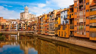 Spain girona catalonia wallpaper