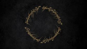 The lord of rings writing wallpaper