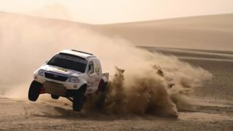 Toyota rally dakar wallpaper
