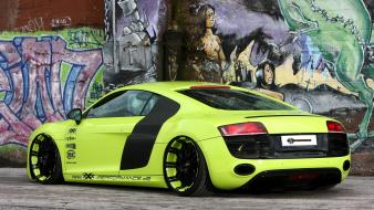 Tuning performance r8 static green racing v10 wallpaper