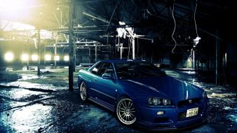 Tuning rims tuned nissan skyline r34 gt-r wallpaper