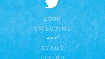 Twitter keep calm and simple social network wallpaper