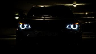 Vehicles 5 series e60 automobile eyes angel wallpaper