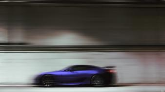Vehicles supercars lfa blurred side view background wallpaper