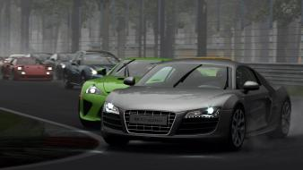 Video games audi r8 gran turismo 5 ps3 wallpaper