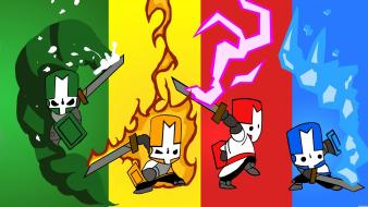 Video games castle crashers artwork wallpaper