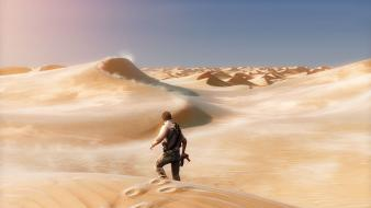 Video games desert uncharted nathan drake 3 wallpaper