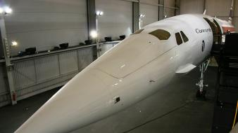 Aircraft museum concorde aviation Wallpaper