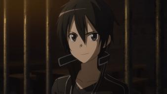 Black hair sword art online kirigaya kazuto Wallpaper