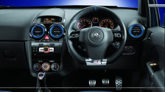 Blue cars interior dashboards vauxhall vxr wallpaper