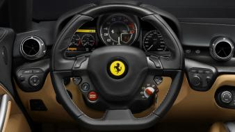 Cars dashboards ferrari f12 berlinetta supercar wallpaper