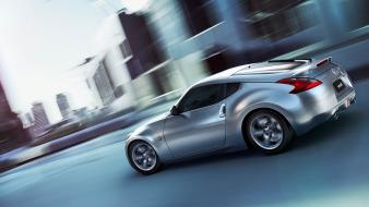 Cars nissan races fairlady z34 370z Wallpaper