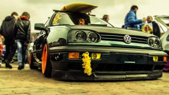 Cars summer surfing volkswagen vw golf wallpaper