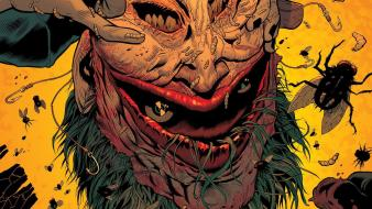 Creepy comics the joker bugs batman and robin Wallpaper