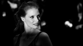 Gollum monochrome cannes jessica chastain wallpaper