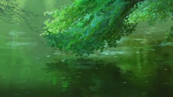 Landscapes makoto shinkai the garden of words wallpaper