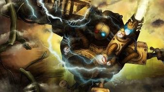 League of legends ipad blitzcrank Wallpaper