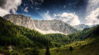 Mountains landscapes hdr photography wallpaper