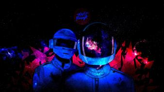 Outer space daft punk electronic Wallpaper