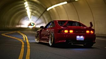 Red cars sports toyota mr2 Wallpaper