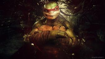 Teenage mutant ninja turtles shadows raphael wallpaper