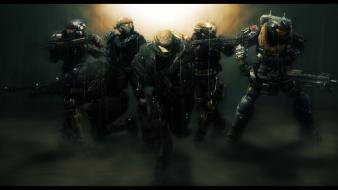 Video games guns kat halo reach noble 6 Wallpaper