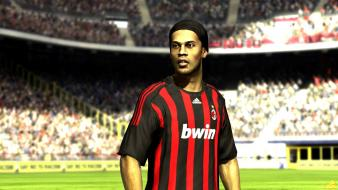 Video games ronaldinho ea ac milan fifa 09 wallpaper