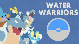 Water pokemon mudkip blastoise wallpaper