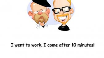 Work mythbusters funny wallpaper