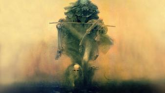 Zdzislaw beksinski surreal art Wallpaper