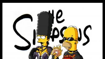 Bart simpson gothic homer lisa maggie wallpaper