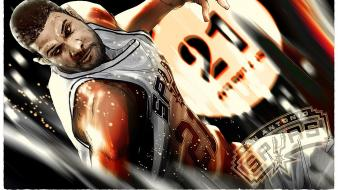 Basketball san antonio spurs tim duncan player Wallpaper