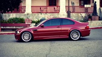 Bmw streets cars vehicles m3 e46 wallpaper